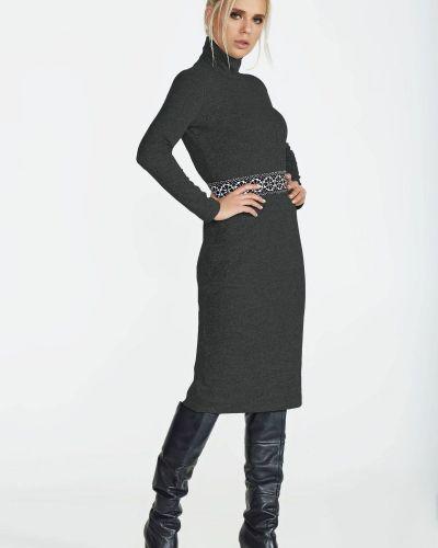 Трикотажное платье - черное Nenka