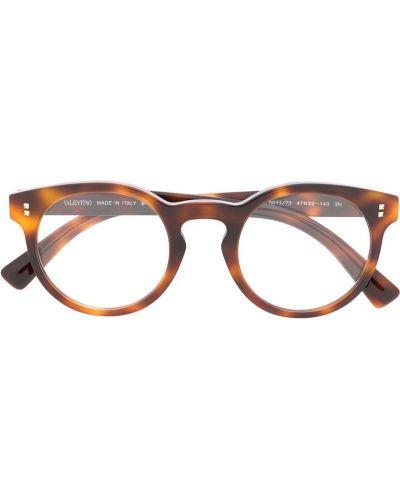 Klipsy z logo Valentino Eyewear