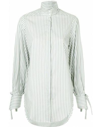 Хлопковая рубашка - белая Strateas Carlucci