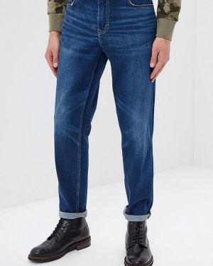 Прямые джинсы синий Banana Republic