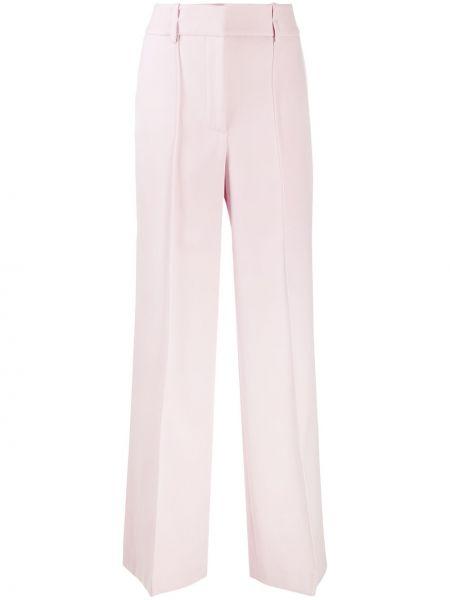 Bawełna różowy wełniany spodnie z kieszeniami Givenchy