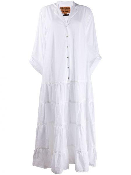 Платье на пуговицах с V-образным вырезом Alessia Santi