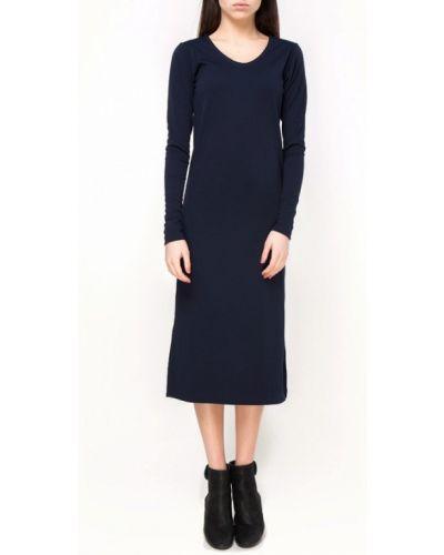 Синее повседневное платье Vergans