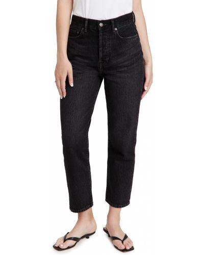 Mom jeans vintage - czarne Acne Studios