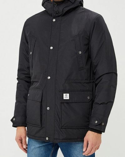 Утепленная куртка - черная Franklin & Marshall