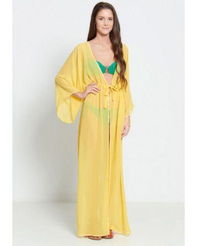 Пляжное платье желтый Donatello Viorano