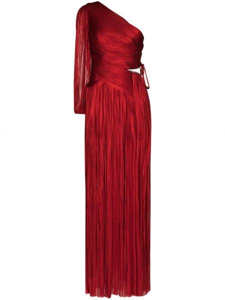 Шелковое вечернее платье - красное Maria Lucia Hohan