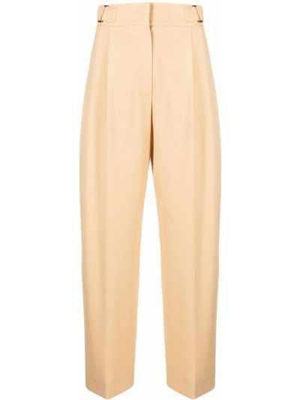 Żółte spodnie wełniane Rejina Pyo