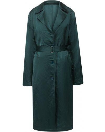 Пальто зеленое пальто Dries Van Noten