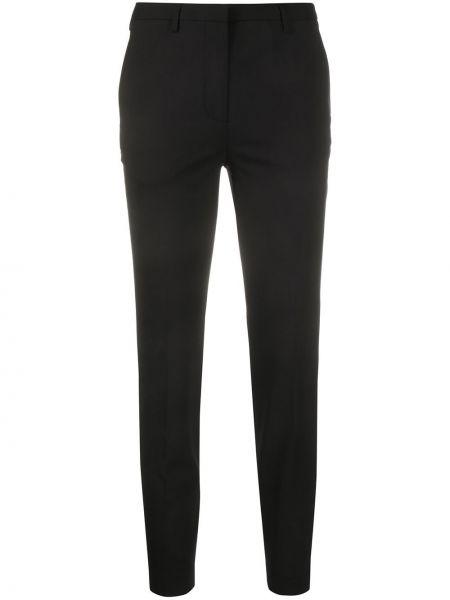 Укороченные брюки с поясом Lardini