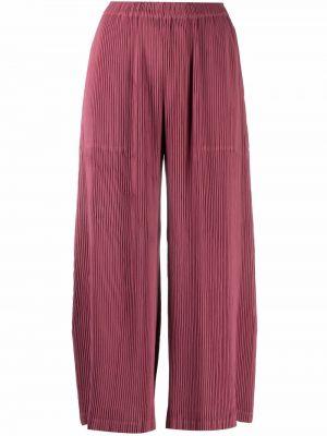 Spodnie - różowe Issey Miyake