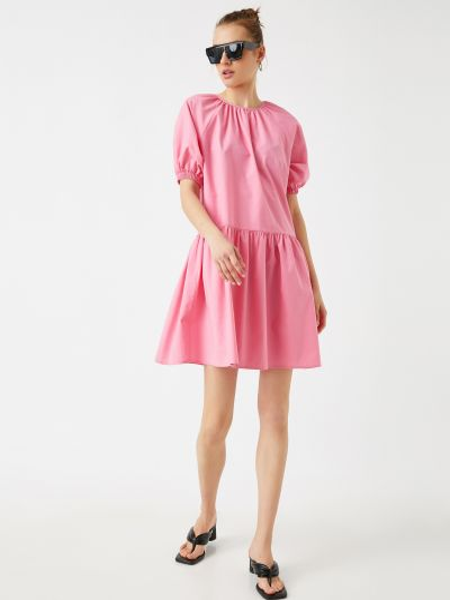 Розовое платье Koton