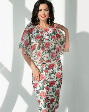 Летнее платье с цветочным принтом платье-сарафан Charutti