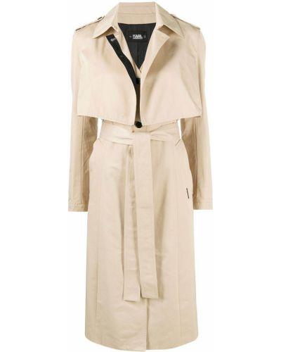 Płaszcz bawełniany Karl Lagerfeld