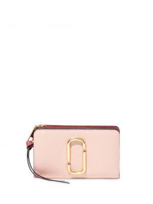 Кожаный кошелек на молнии с карманами Marc Jacobs