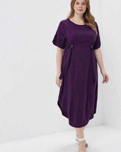 Платье весеннее фиолетовый Sparada