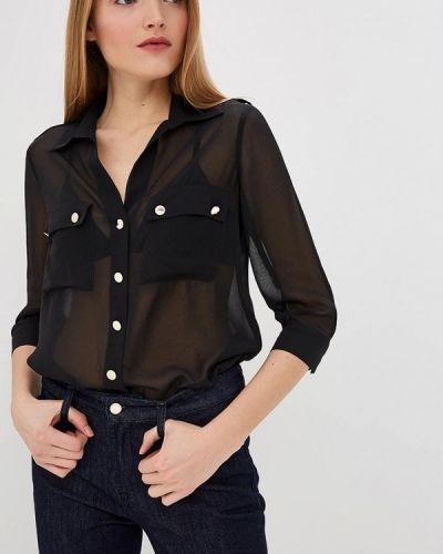 Блузка с длинным рукавом весенний черная Marciano Los Angeles