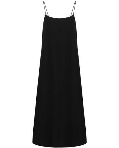 Шелковое платье - черное The Row