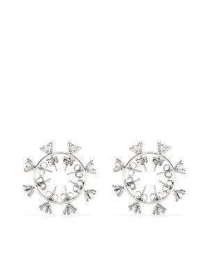 Kolczyki sztyfty z cyrkoniami srebrne Dheygere