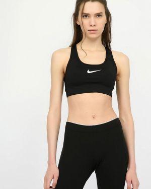 Спортивный топ черный Nike