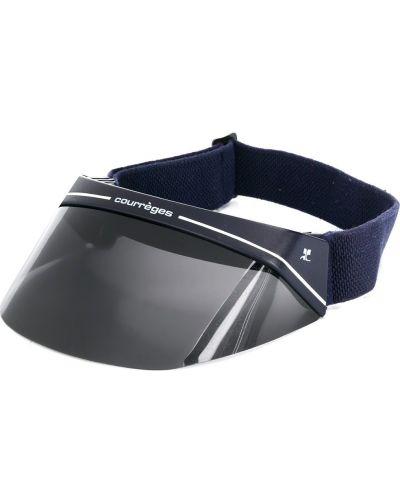 Акриловая темно-синяя кепка Courrèges Pre-owned