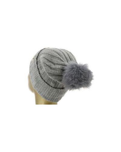 Серая шапка шерстяная Blugirl