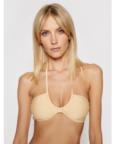 Żółty bikini Na-kd