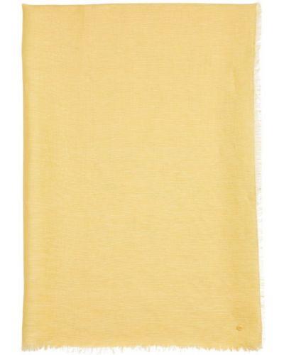 Żółty szalik Marc O'polo