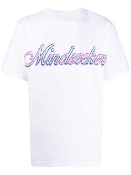 Koszula krótkie z krótkim rękawem z logo prosto Mindseeker