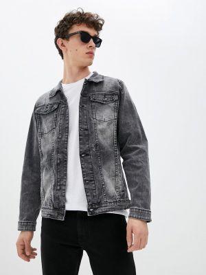Серая зимняя джинсовая куртка Terance Kole