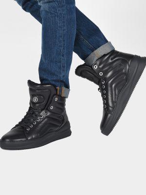 Кожаные ботинки осенние спортивные Bogner