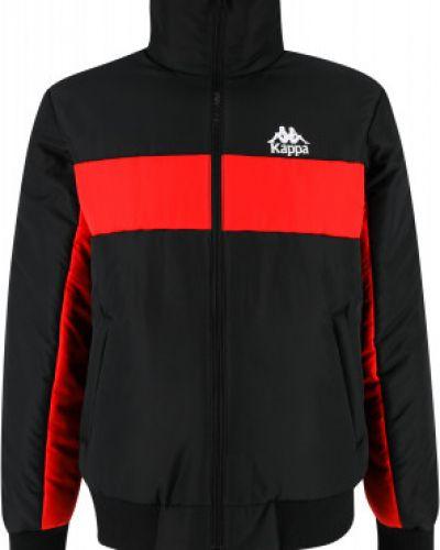 Черная куртка из полиэстера Kappa
