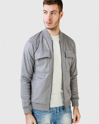 Кожаная куртка - серая Figo