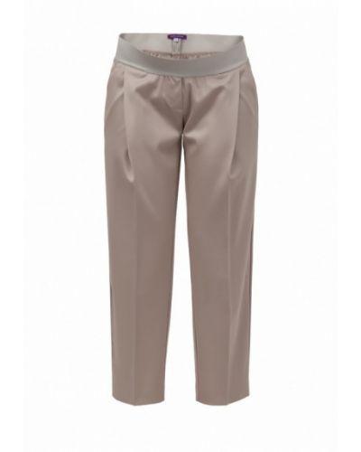 Бежевые брюки Mona Moon