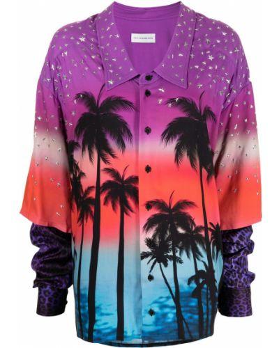 Классическая рубашка оверсайз с воротником из вискозы Faith Connexion