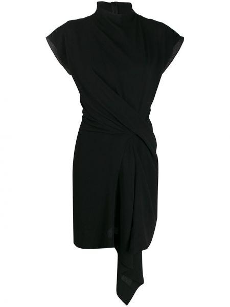 Платье мини на молнии с драпировкой Nina Ricci