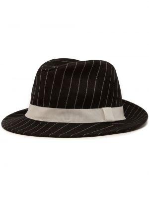 Шляпа федоры - черные Dolce & Gabbana