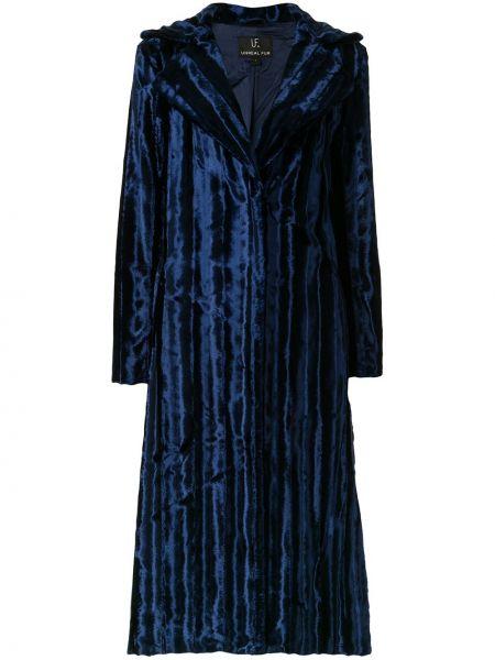 Длинное пальто Unreal Fur