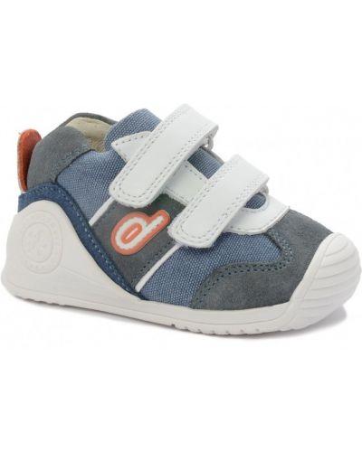 Кожаные кроссовки с подкладкой Biomecanics