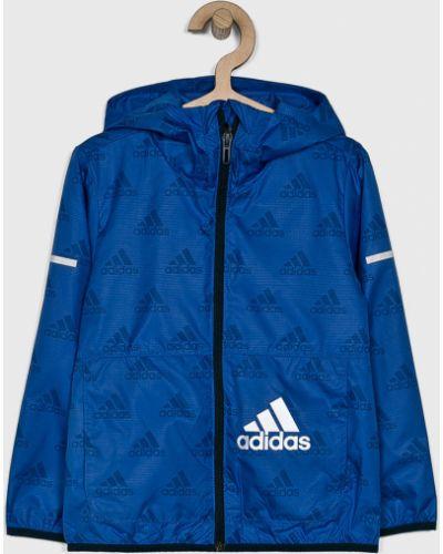 Куртка синий Adidas Performance