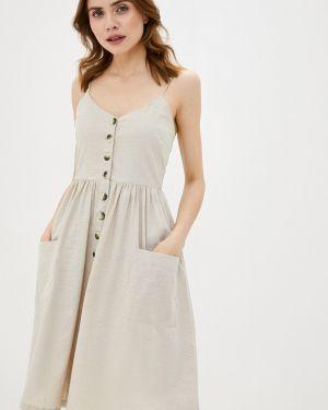 Платье серое платье-сарафан Brave Soul