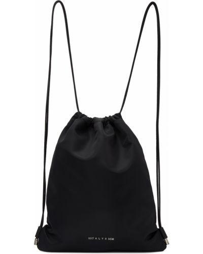 Czarny plecak srebrny 1017 Alyx 9sm