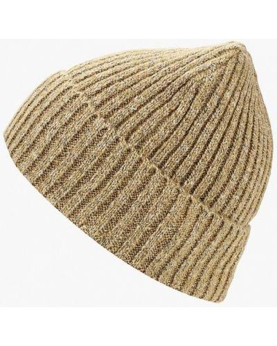 Бежевая шапка осенняя Sela
