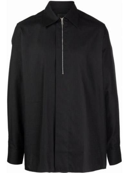 Koszula zapinane na guziki - czarna Givenchy