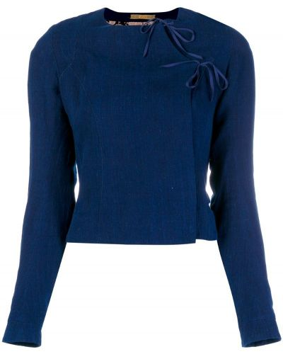 Синяя куртка Atelier Bâba