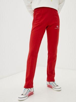 Красные спортивные брюки Chiara Ferragni Collection