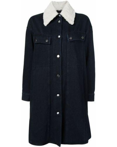 Пальто джинсовое пальто Mm6 Maison Margiela