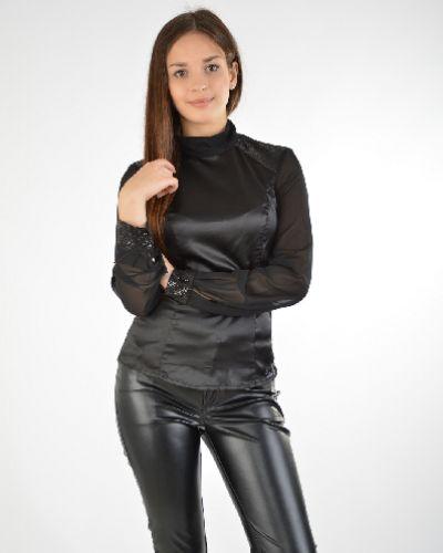 Блузка турецкий черная Sassofono