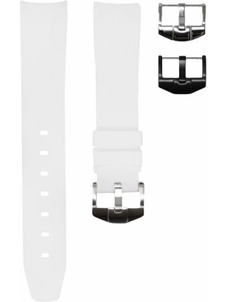 Szary sport zegarek srebrny Horus Watch Straps