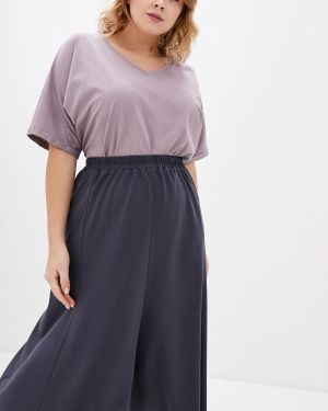 Футболка - фиолетовая Darissa Fashion